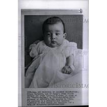 1960 Press Photo Prince Naruhito Son Birth Ceremony - RRX48609