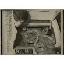 1975 Press Photo Donatella Colasanti found naked bloody - RRX75999