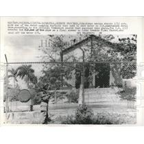 1964 Press Photo Cuba Sentry Water Pumping Station - RRW52333