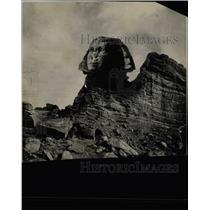 Press Photo Egyptian Sphinx Gigantic Natural Rocks - RRX62147