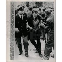 1966 Press Photo Riots at University of Rome - RRX70619