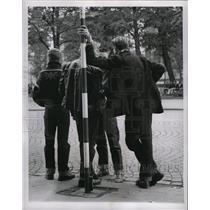 1959 Press Photo Oslo Norway Gangs - RRX70897