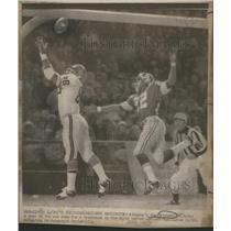 1972 Press Photo Jim Mitchell Atlanta Falcons - RSC28149