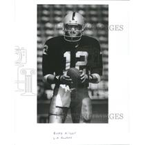 Press Photo Rusty Hilger of the LA Raiders - RSC28181