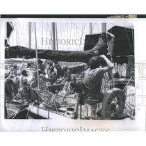 1981 Press Photo Regatta Del Sol Al Sol Yacht Race Isla- RSA29345