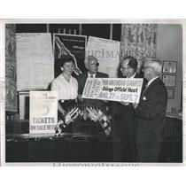 1959 Press Photo Pan American Ticket Office First Sale - RRW51925