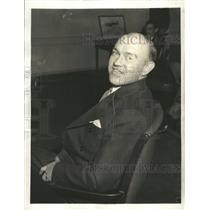 1934 Press Photo Harry Woodring Military Chief war - RRX87053