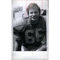 1972 Press Photo Bob Kowalkowski Guard Detroit Lions - RRX38745