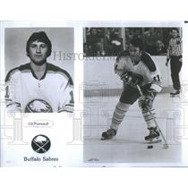 1977 Press Photo Buffalo Sabres Gil Perreault - RSC28753