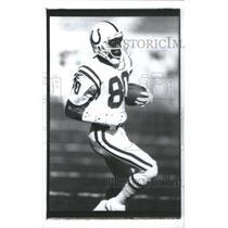 Press Photo Bill Brooks Colts Boston American football Indianapolis Colts