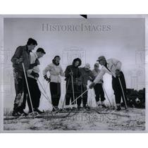 1948 Photo Pontiac Ski Club At Highland Rec Area - RRU89583