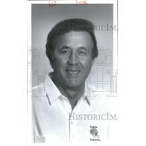 1992 Press Photo Tom Flores, President and Head Coach Seahawks - RSC26081