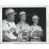 1963 Press Photo The Ramblers: William Mackey, Jim Kraml Jr., and Dave Roenisch