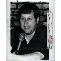 1983 Press Photo Sports Comentator Ron Cameron - RRX60771