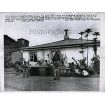 1960 Press Photo Korean Orphans Hula Hoops Seoul