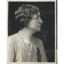 1929 Press Photo Wife Of War Secretary Good Studio Portrait