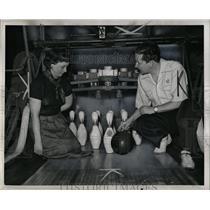 1950 Press Photo Bowling Schools - RRW05721