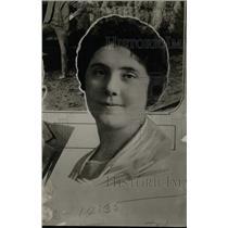 1922 Press Photo Mrs. Mae Blenn Ford - RRW74085