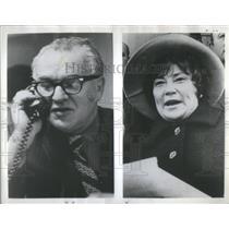 1975 Press Photo Abzug Myra MacPherson Chisholm Bella Conrad Martin Howard Legge