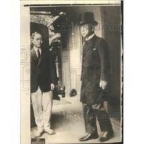 1938 Press Photo Prince Kimmothi Saionji Tokyo Japan - RSC31133