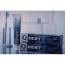 1900 Press Photo Q Dent Toothpaste - RRW70091