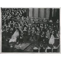 1937 Press Photo Crown Princess Julianna of The Netherlands Gets Married