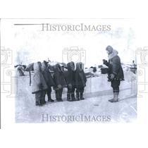 1927 Press Photo Area Flight Detroit News Wilkins kids - RRV59025