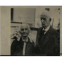 1925 Press Photo Mr. Mrs.H.E. Whitney 70th Anniversary - RRX54353