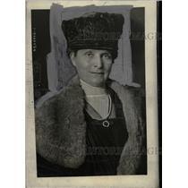 1921 Press Photo Picture of Mrs. Evans Hughes. - RRW74839