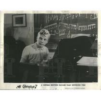 """1961 Press Photo Christian De Bresson in film """"Question 7."""" - RSC32965"""