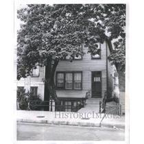1961 Press Photo Luke Walton's home in Chicago