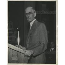 1935 Press Photo Doctor Townsend Denver - RRX89893