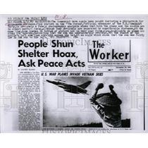 1962 Press Photo US Communist Party Fakes Photo - RRW03109