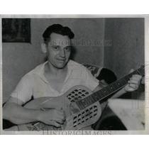 1936 Press Photo Karl Wiartala champion type aver Music - RRX55517