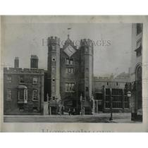 1929 Press Photo St James Palace historic events naval - RRX68663
