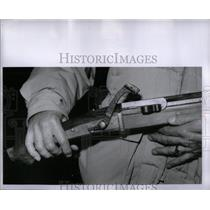 1952 Press Photo Japanese Muzzle Gun - RRX10383