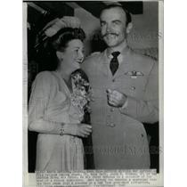 1942 Press Photo Actress Arline Judge Marries - RRX32047