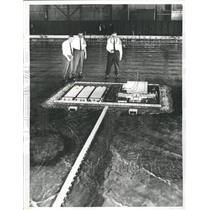1966 Press Photo Desalting Plant Model - RRW38679