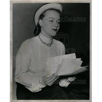 1947 Press Photo Marie Manton, producer - RRX59567