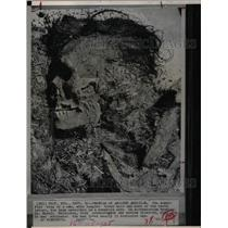 1963 Press Photo Mummified Body Man Wyoming Cave - RRX69945