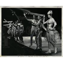 1966 Press Photo Glamour Galore Ice Revue - RRW64253
