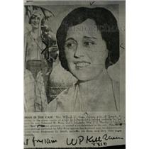 1931 Press Photo Mrs. William J. Ross - RRW96609