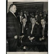 Press Photo Pres Fed Labor Addressing Meeting Delegates - RRX47275