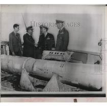 Press Photo Hydrogen Bomb