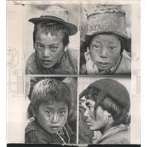 1962 Press Photo Monpas Indian Northeast Refugees Mich - RRW44157