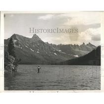Press Photo Glacier National Park Montana - RRX85795