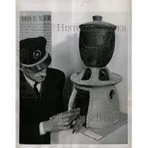 1954 Press Photo Rome Stive spaghetti - RRX65679