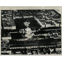 1930 Press Photo Aerial View Lyons France Landslides - RRX76321