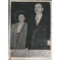 1951 Press Photo Julius And Ethel Rosenberg American Communists & Spies