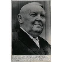 1963 Press Photo Ludwig Erhard West Germany Adenauer - RRW21307